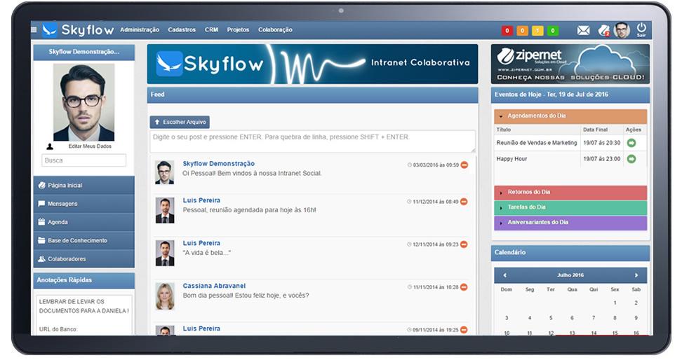 Rede Social Corporativa e Intranet para Tablets, Celulares e dispositivos móveis