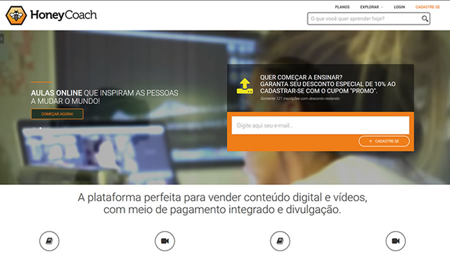 Plataforma de Ensino à Distância para Vídeos e Cursos - Detalhe do Curso